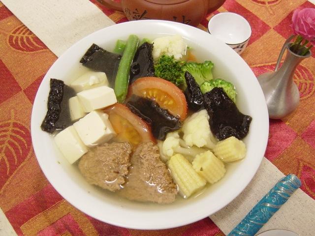 15.Tofu & Seaweed Soup