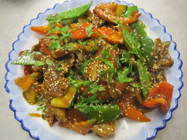 Fried Sweet & Sour Oyster Mushrooms