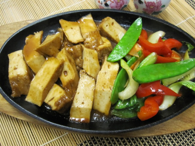 Tofu with Flavoured Sauce