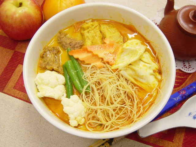 Curry Meehoon Soup